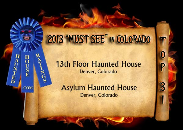 Haunted houses in colorado haunted house ratings haunted for 13th floor haunted house pa